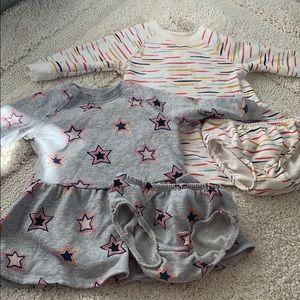 Gymboree baby girls dress bundle
